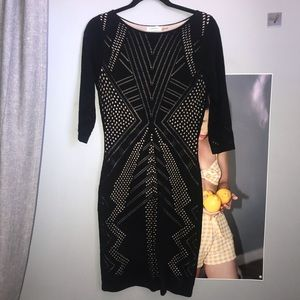 Black long sleeve dress- Calvin Klein
